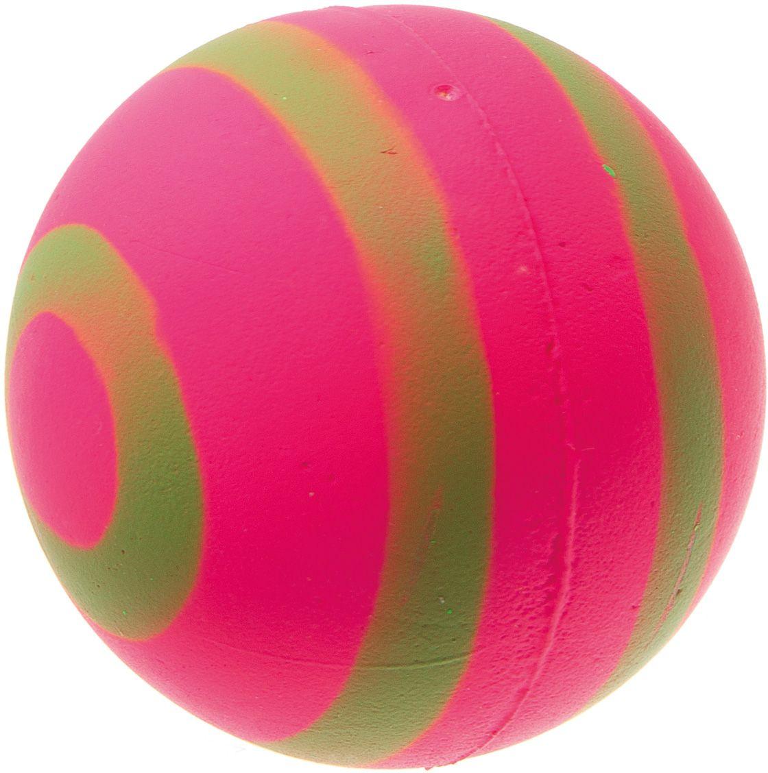 Мяч V.I.Pet Неон, цвет: розовый, зеленый, диаметр 63 мм. 20-112420-1124Мяч V.I.Pet Неон предназначен для игр, тренировок и активного отдыха с животными. Мяч заинтересует и увлечет вашего питомца. Сделана из абсолютно безопасного и качественного материала. Материал: вспененная резина.