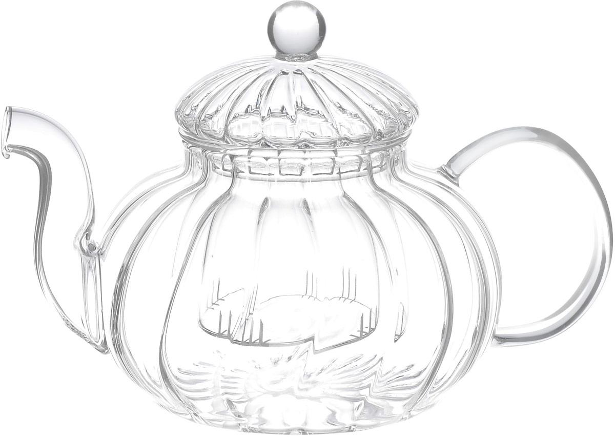 Чайник заварочный Hunan Provincial Лотос, 600 мл15041Заварочный чайник Hunan Provincial Лотос изготовлен из стекла. Пить чай из такого чайника сплошное удовольствие! Полностью прозрачная форма позволяет любоваться цветом своего любимого напитка. Устойчивая основа, широкий носик, удобная ручка - все выполнено идеально для достижения полного комфорта в использовании. Внутреннее сито выполнено на 100% из стекла. После того, как чай заварился, колбу лучше всего достать из чайника, для того чтобы чайный лист не перезаваривался.Диаметр чайника (по верхнему краю): 6,8 см. Высота чайника (без учета крышки): 8 см. Высота чайника (с учетом крышки): 12 см.Высота фильтра: 6 см.