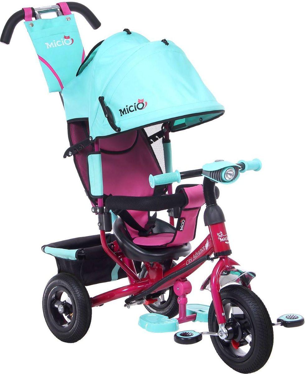 Micio Велосипед детский трехколесный Сity Advance 2017 цвет бирюзовый -  Велосипеды-каталки