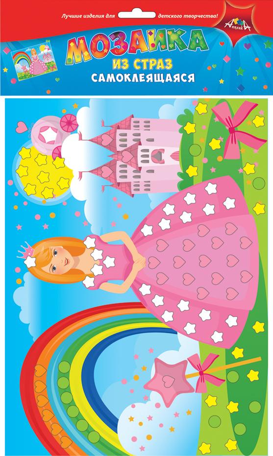 Апплика Мозаика Принцесса мозаика апплика мозаика голографическая формат а6 кот