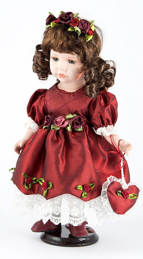 Кукла фарфоровая коллекционная King Star Герда, 31 см. 15978 smoby детская горка king size цвет красный