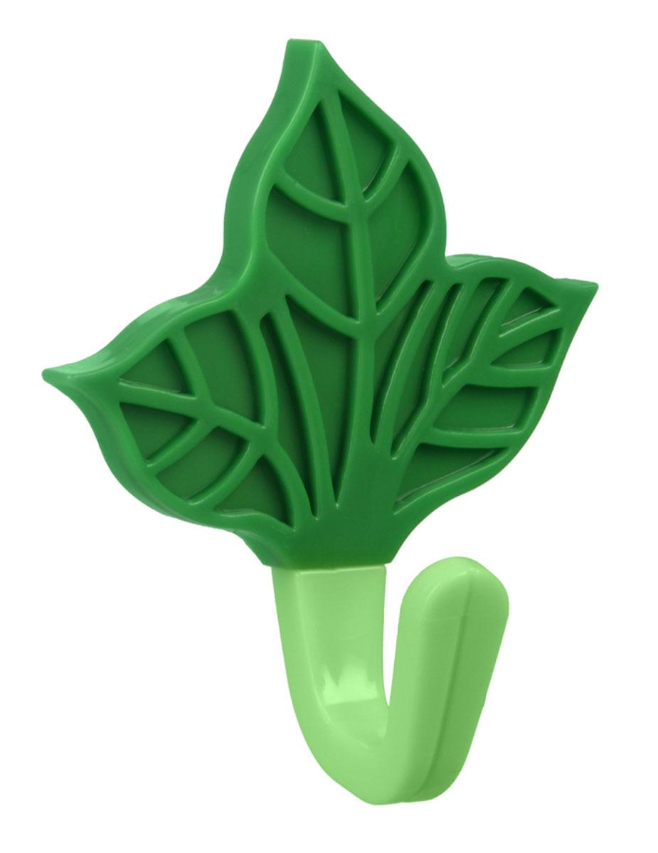 Крючок Metaltex Лист, 5,5 х 8 х 4 см29.05.30Крючок Metaltex Лист выполнен из пластика. Крючок с помощью липкого слоя приклеивается к гладкой и чистой поверхности. На него можно вешать полотенца или любые другие вещи. Крючок Metaltex Лист отлично дополнят ваш интерьер.