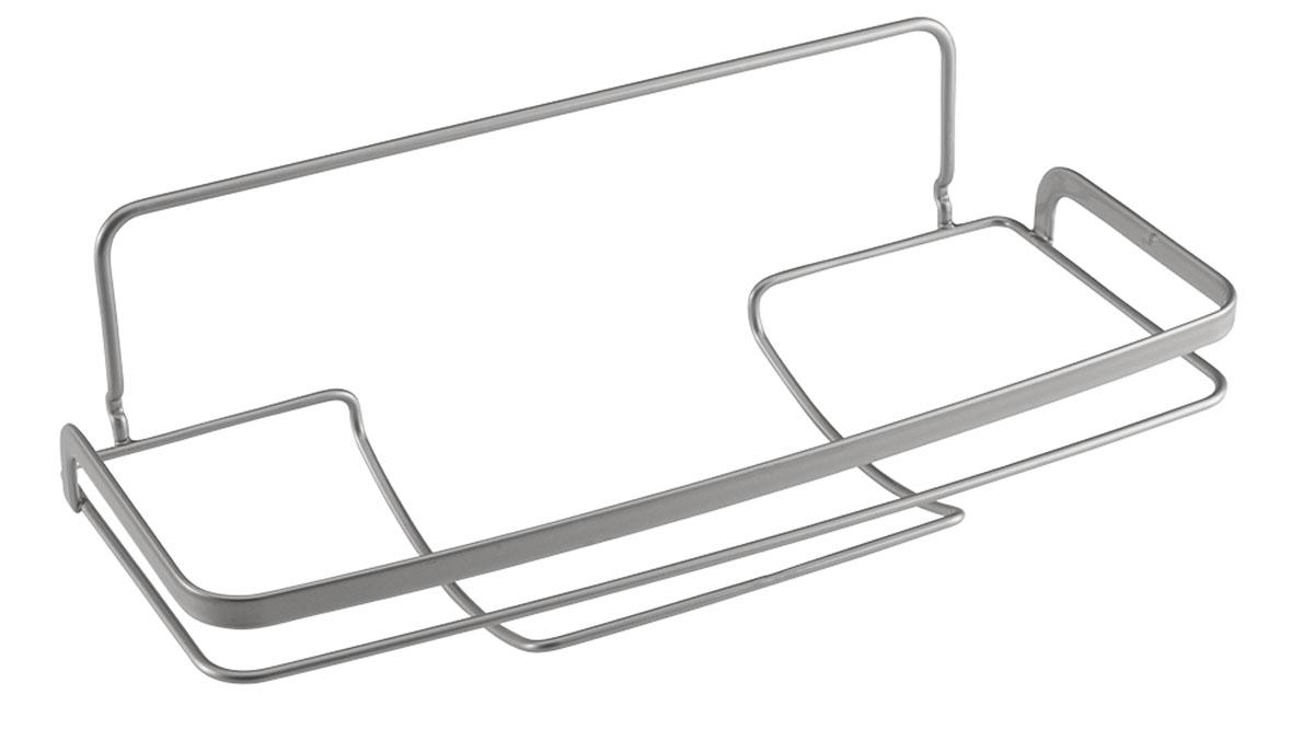 Держатель для бумажных полотенец Metaltex Eureka!, 33 х 15 х 11 см35.04.20Держатель Metaltex Eureka! предназначен для хранения и удобного использования бумажных полотенец. Держатель выполнен из высококачественной стали со специальным политермическим покрытием серебристого цвета Polyterm. Благодаря компактным размерам держатель для бумажного полотенца впишется в интерьер вашей кухни. Настенное крепление не входит в комплект.