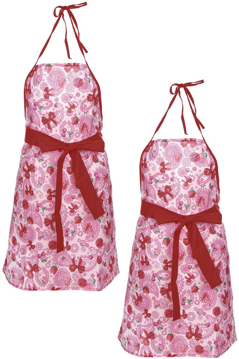 Комплект фартуков Bonita Дочки-матери, 2 предмета комплект из 2 х фартуков bonita дочки матери