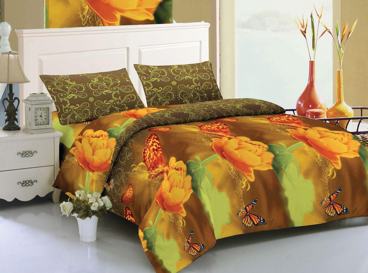 Комплект белья Amore Mio Layla, 2-спальный, наволочки 70x70 комплект семейного белья василиса нежная роза 4172 1 70x70 c рб