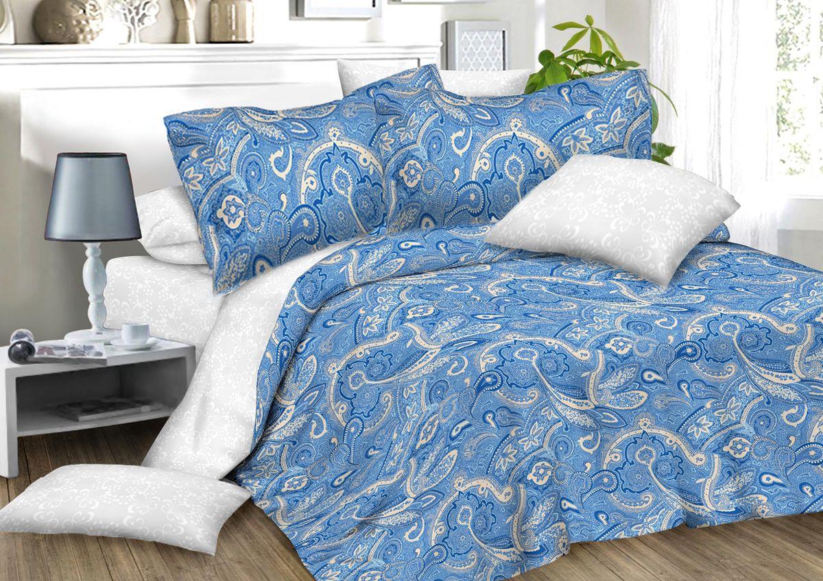 Комплект белья Amore Mio Paisly, 2-спальный, наволочки 70x7082916Комплект постельного белья Amore Mio является экологически безопасным для всей семьи, так как выполнен из сатина (100% хлопок). Постельное белье оформлено оригинальным рисунком и имеет изысканный внешний вид. Сатин - это ткань сатинового (атласного) переплетения нитей. Имеет гладкую, шелковистую лицевую поверхность, на которой преобладают уточные нити (уток - горизонтально расположенные в тканом полотне нити). Сатин изготавливается из крученой хлопковой нити двойного плетения. Он чрезвычайно приятен на ощупь, не электризуется и не скользит по кровати. Сатин прекрасно сохраняет форму и не мнется, отлично пропускает воздух, что позволяет телу дышать и дарит здоровый и комфортный сон.Комплект состоит из пододеяльника, простыни и двух наволочек.