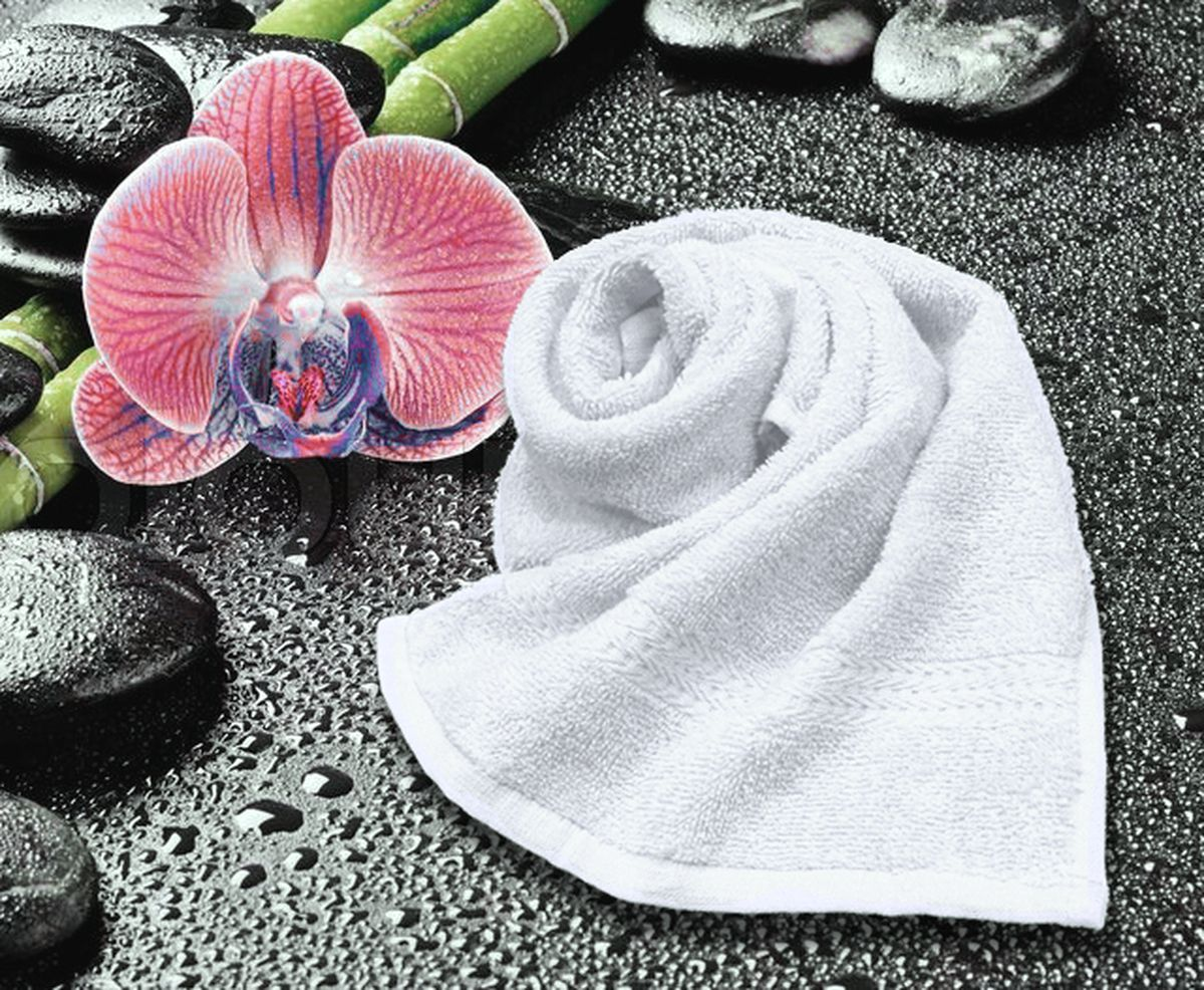 Полотенце Amore Mio GX Classic, цвет: белый, 33 х 70 см84503Amore Mio GX Classic - это махровое полотенце отличного качества, оно выполнено из 100% хлопка. Яркие цвета выполнены качественным красителем BASF из Германии. Полотенце сохранит насыщенность цвета на долгое время. Мягкость и пушистость этого полотенца вас приятно удивит.