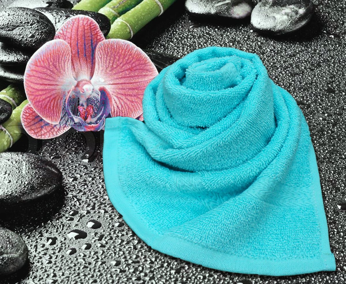 Полотенце Amore Mio GX Classic, цвет: бирюзовый, 33 х 70 см84512Полотенце Amore Mio GX Classic выполнено из высококачественного 100% хлопка. Мягкость и пушистость этого полотенца приятно вас удивит. Яркие цвета, выполненные качественным красителем BASF из Германии, сохраняют насыщенность долгое время. Продукция имеет европейский сертификат качества.