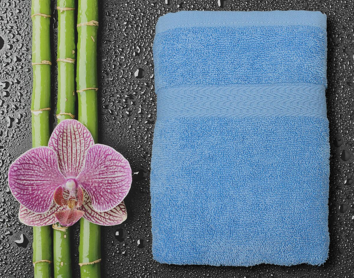 Полотенце Amore Mio GX Classic, цвет: голубой, 50 х 90 см84523Полотенца Amore Mio GX Classic - это полотенца отличного качества из 100% хлопка. Яркие цвета выполнены качественным красителем BASF из Германии и сохраняют насыщенность долгое время. Мягкость и пушистость этих полотенец вас приятно удивит. Продукция имеет европейский сертификат качества.