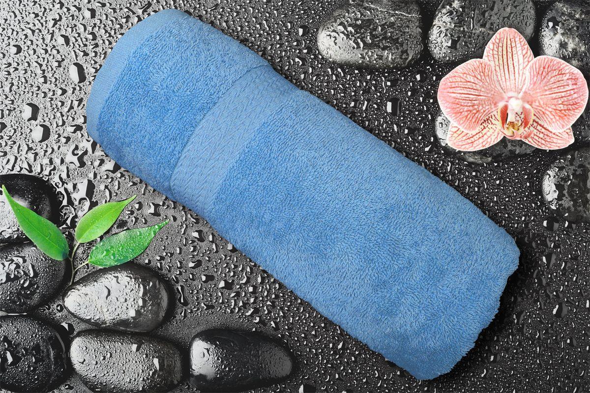 Полотенце Amore Mio GX Classic, цвет: голубой, 70 х 140 см84539Полотенце Amore Mio GX Classic выполнено из высококачественного 100% хлопка. Мягкость и пушистость этого полотенца приятно вас удивит. Яркие цвета, выполненные качественным красителем BASF из Германии, сохраняют насыщенность долгое время. Продукция имеет европейский сертификат качества.