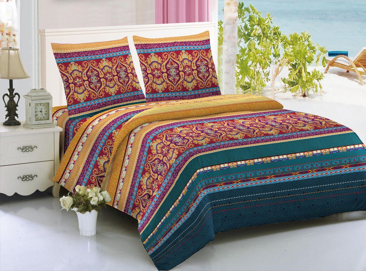 Комплект белья Amore Mio Bangkok, 1,5-спальный, наволочки 70x7085265Комплект постельного белья Amore Mio изготовлен из мако-сатина. Нано-инновации позволили открыть новую ткань, которая сочетает в себе широкий спектр отличных потребительских характеристик и невысокой стоимости. Легкая, плотная, мягкая ткань, приятна и обладает эффектом персиковой кожуры. Отлично стирается, гладится, быстро сохнет. Дисперсное крашение великолепно передает качество рисунков и необычайно устойчиво к истиранию.Комплект состоит из пододеяльника, простыни и двух наволочек.