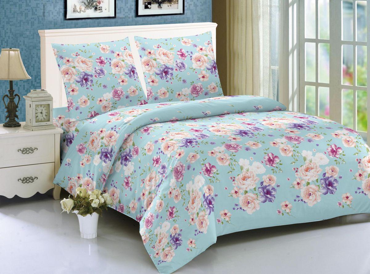 Комплект белья Amore Mio Sofia, 1,5-спальный, наволочки 70x70