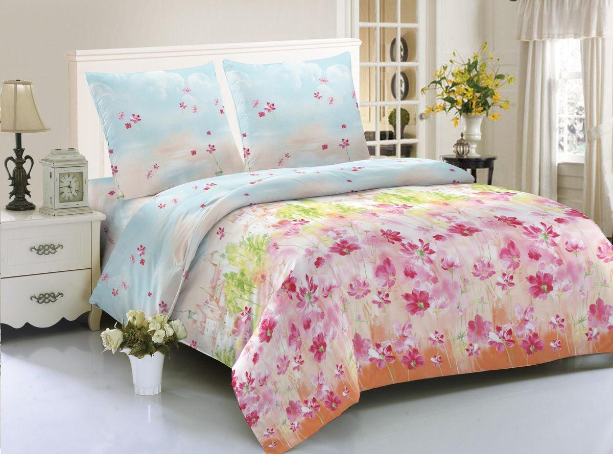 Комплект белья Amore Mio Vienna, 2-спальный, наволочки 70x70