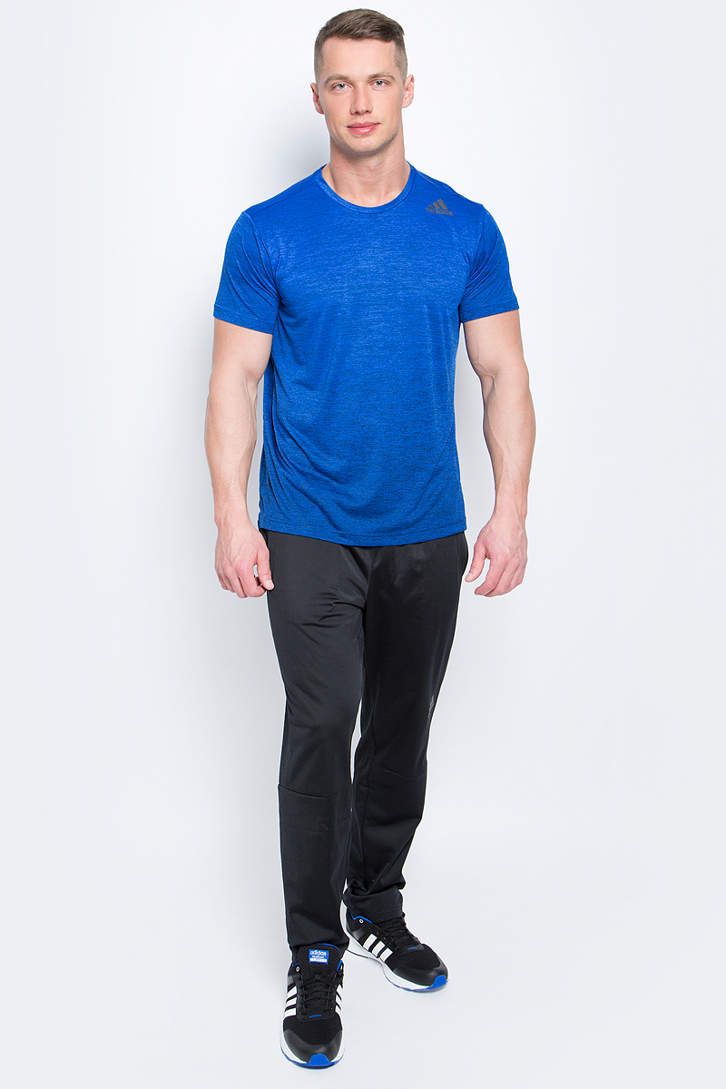 Футболка мужская adidas Freelift Grad, цвет: синий. BK6139. Размер XL (56/58) футболка мужская adidas freelift ak цвет зеленый bk6105 размер xxl 60 62