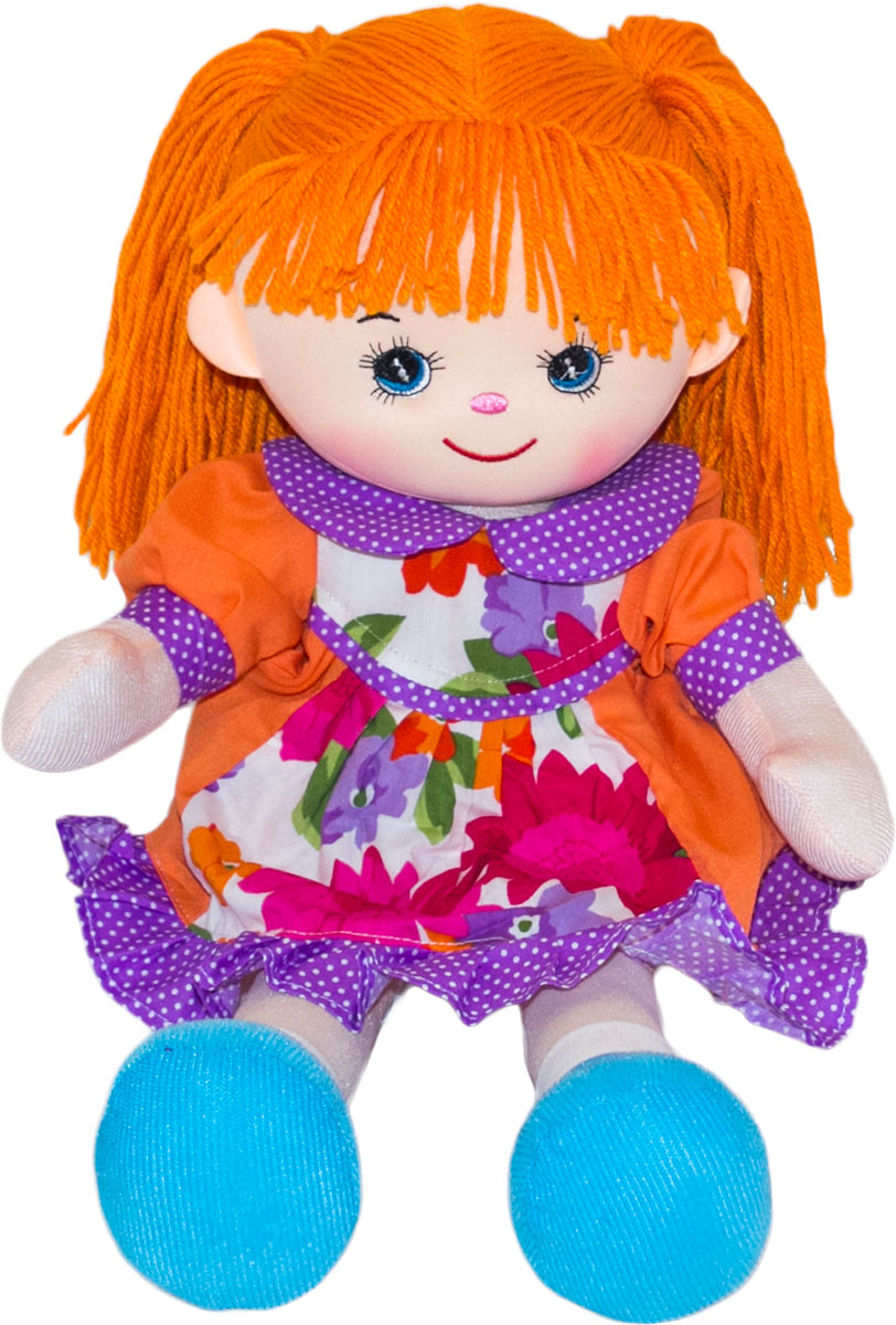 Gulliver Мягкая кукла Гвоздичка 30 см куклы gulliver кукла дынька 30см