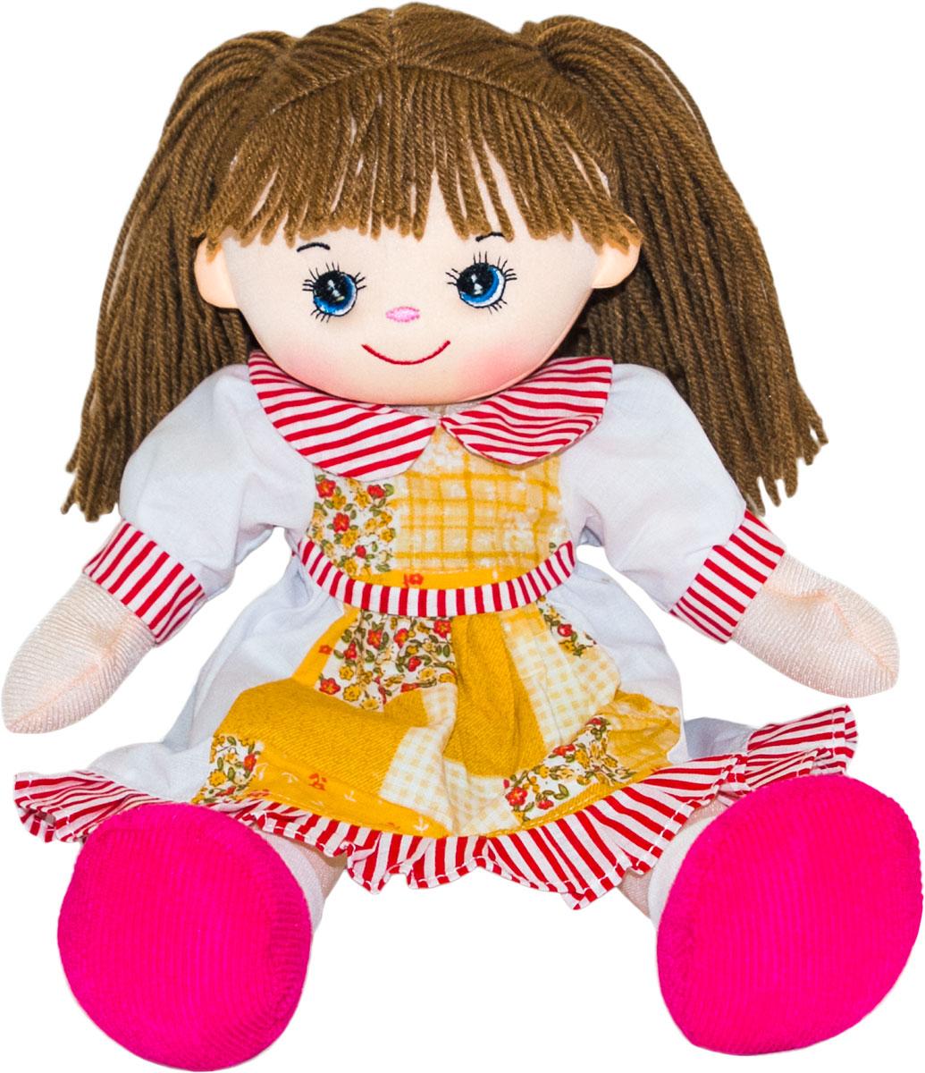 Gulliver Мягкая кукла Смородинка 30 см игрушка мягкая gulliver кукла хозяюшка 30см