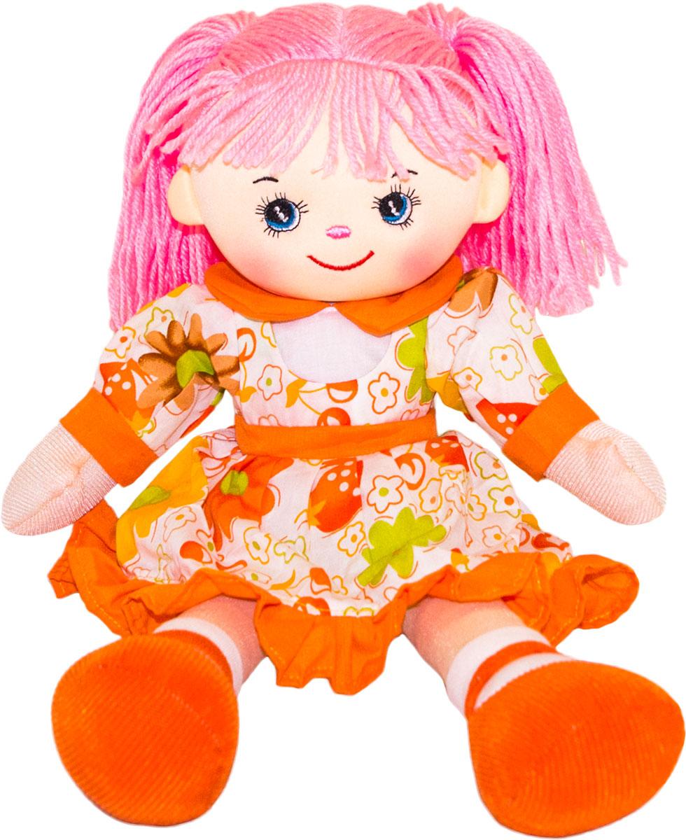 Gulliver Мягкая кукла Нектаринка 30 см игрушка мягкая gulliver кукла хозяюшка 30см