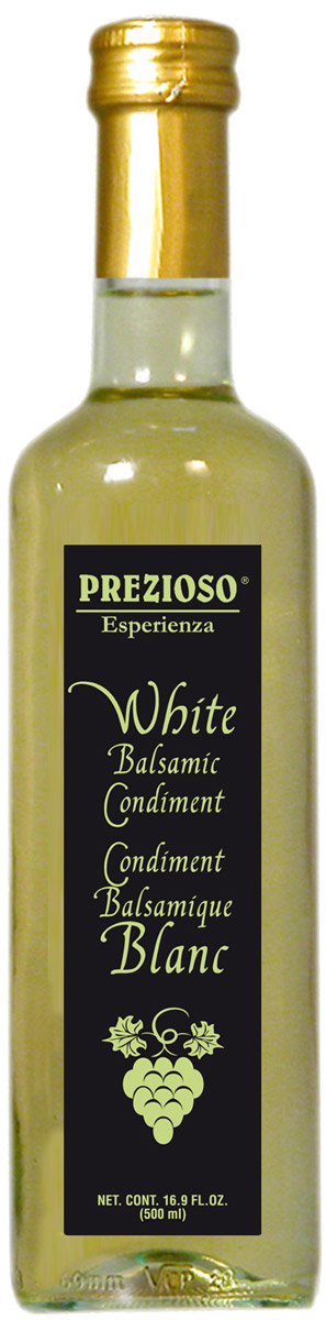 Prezioso Esperienza Уксус бальзамический светлый, 500 мл008295660664Используемый в основном в качестве топинга, он придает блюдам законченный и изысканный вид, а также добавляет им оригинальную вкусовую нотку.