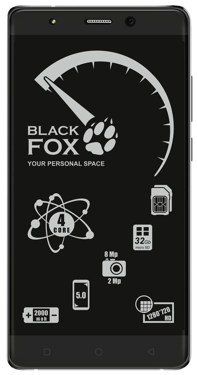 Black Fox BMM 532S, Silver