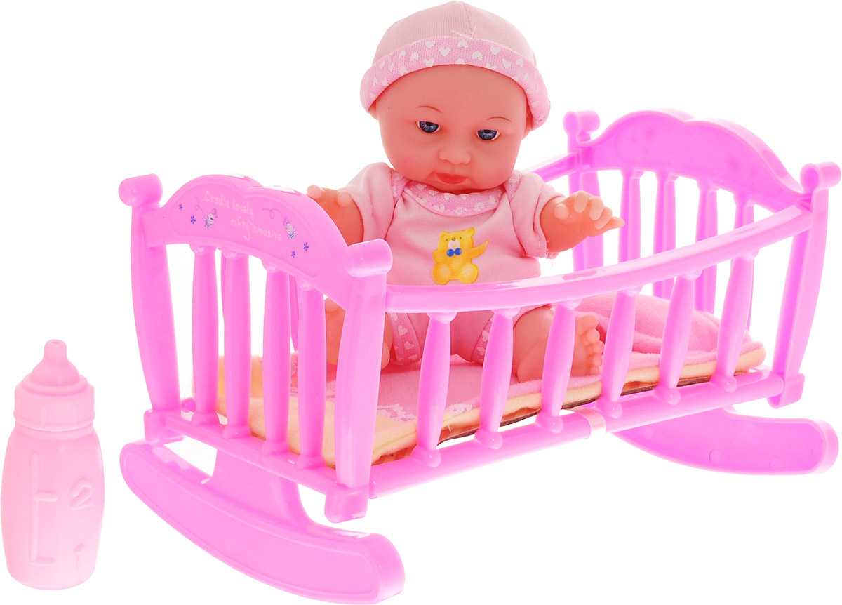 Карапуз Пупс Мой малыш цвет одежды светло-розовый карапуз пупс цвет одежды розовый белый