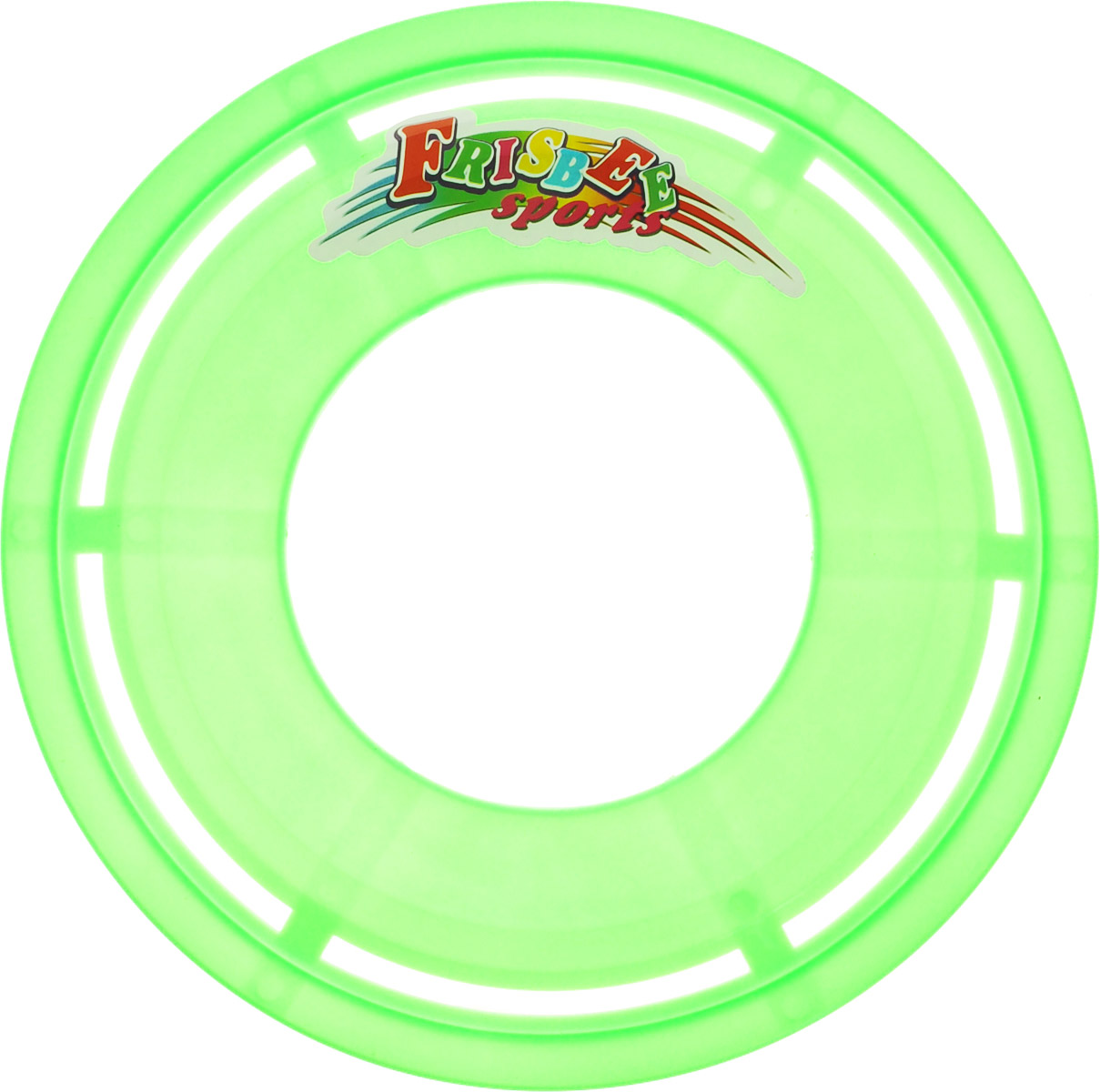 Veld-Co Летающая тарелка цвет зеленый диаметр 23 см