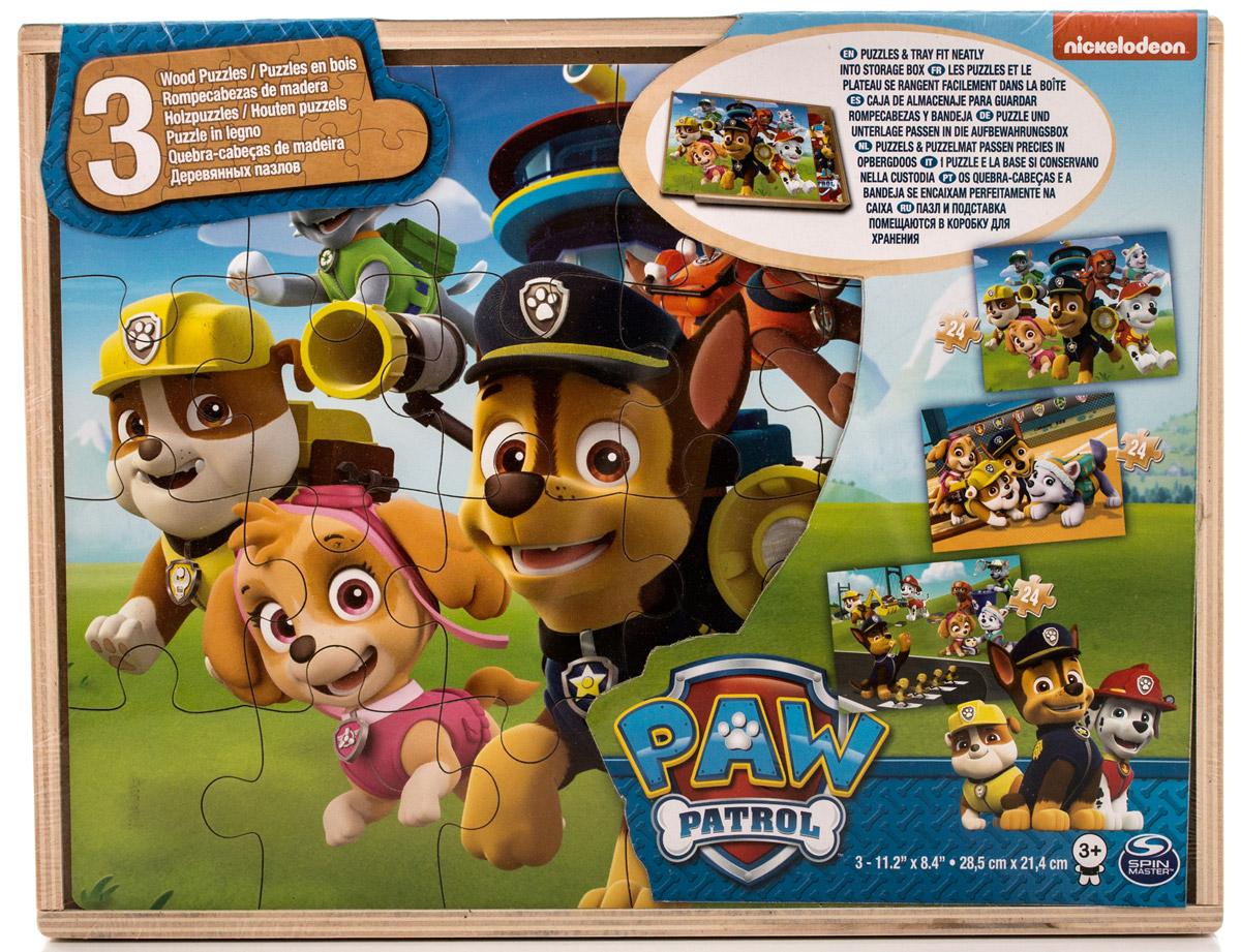 Paw Patrol Пазл для малышей 3 в 1 тренировочный центр paw patrol