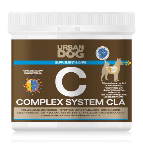 Иммуностимулирующая комплексная система CLA Urban Dog для собак, 500 гUD303CL5Иммуностимулирующая комплексная система CLA Urban Dog улучшает развитие мышц, укрепляет и поддерживает сердечную деятельность, уменьшает жировые отложения без изменения общей массы тела, но увеличивая синтез мышечной массы за счёт увеличения липолиза.Комплексная система CLA повышает эффективность иммунной системы, оказывает омолаживающее действие на организм старых особей. Способствует увеличению фертильности у племенных животных: при регулярном применении с первого дня течки до родов вызывает увеличение выработки молока, снижение стресса, испытываемого животным.