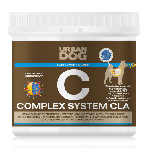 Иммуностимулирующая комплексная система CLA Urban Dog для собак, 1 кгUD313CLK1Иммуностимулирующая комплексная система CLA Urban Dog улучшает развитие мышц, укрепляет и поддерживает сердечную деятельность, уменьшает жировые отложения без изменения общей массы тела, но увеличивая синтез мышечной массы за счёт увеличения липолиза.Комплексная система CLA повышает эффективность иммунной системы, оказывает омолаживающее действие на организм старых особей. Способствует увеличению фертильности у племенных животных: при регулярном применении с первого дня течки до родов вызывает увеличение выработки молока, снижение стресса, испытываемого животным.
