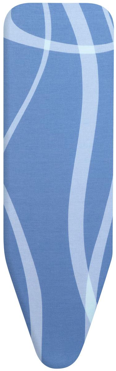 """Чехол для гладильной доски Brabantia """"Perfect Fit. Волны"""", 2 мм, 110 х 30 см. 194825"""