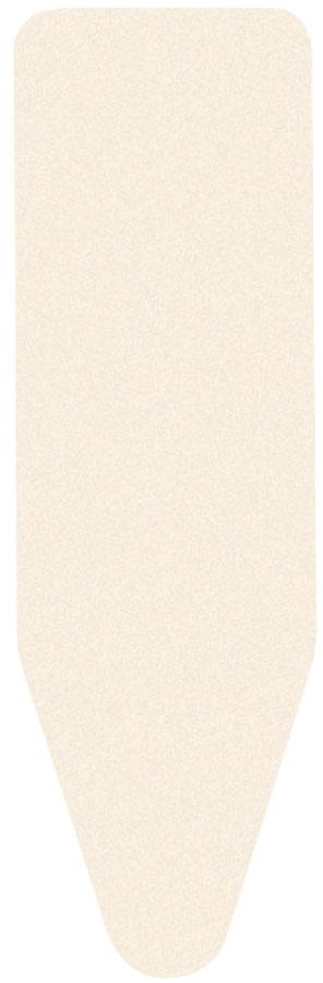 Чехол для гладильной доски Brabantia Perfect Fit, цвет: экрю, 2 мм, 110 х 30 см. 194825194825_бежевыйИдеальная поверхность для глажения и отпаривания.Плавное скольжение утюга – верхний чехол из 100% хлопка.Удобное глажение – подкладка из 2 мм поролона для упругости.Удобная фиксация на доске и отличное натяжение чехла – затягивающий шнур и стяжки.Цветовая маркировка позволяет быстро и точно подобрать нужный чехол.