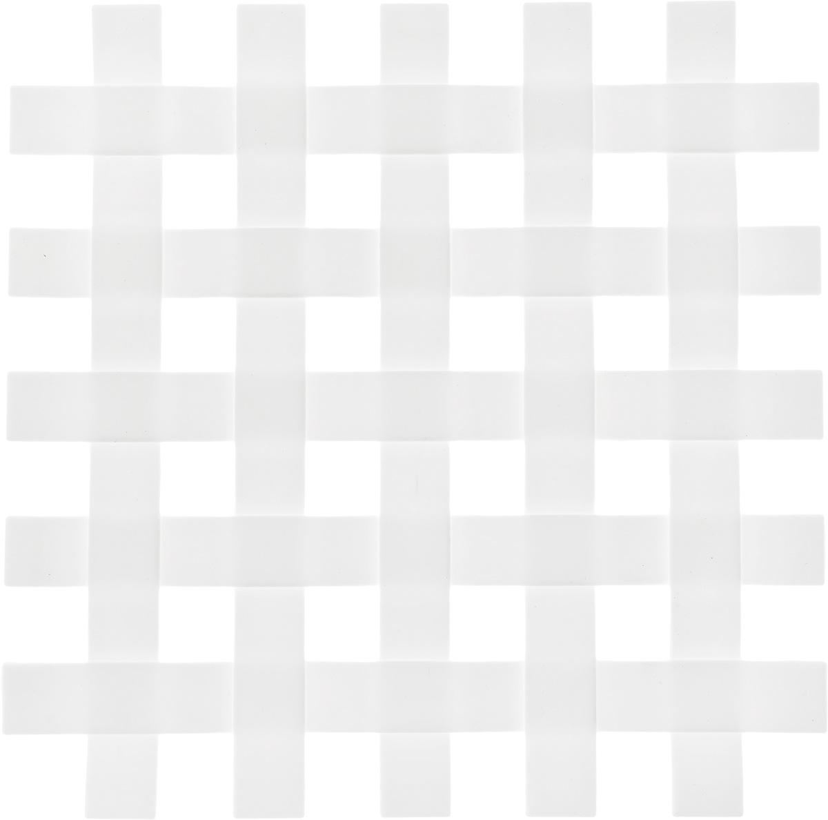 Подставка под горячее Zeller, цвет: белый, 17,2 х 17,2 см27232_белыйПодставка под горячее Zeller в виде решетки изготовлена из силикона. Материал позволяет выдерживать высокие температуры и не скользит по поверхности стола.Каждая хозяйка знает, что подставка под горячее - это незаменимый и очень полезный аксессуар на каждой кухне. Ваш стол будет не только украшен оригинальной подставкой, но и избежит воздействия высоких температур.