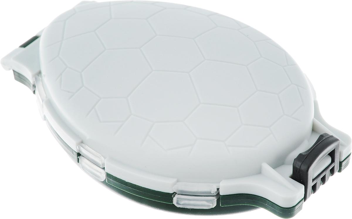 Коробка для хранения мелочей Три кита Черепашка, цвет: серый, темно-зеленый, 11 х 7,5 х 3,2 см аксессуар три кита колокольчик толстостенный