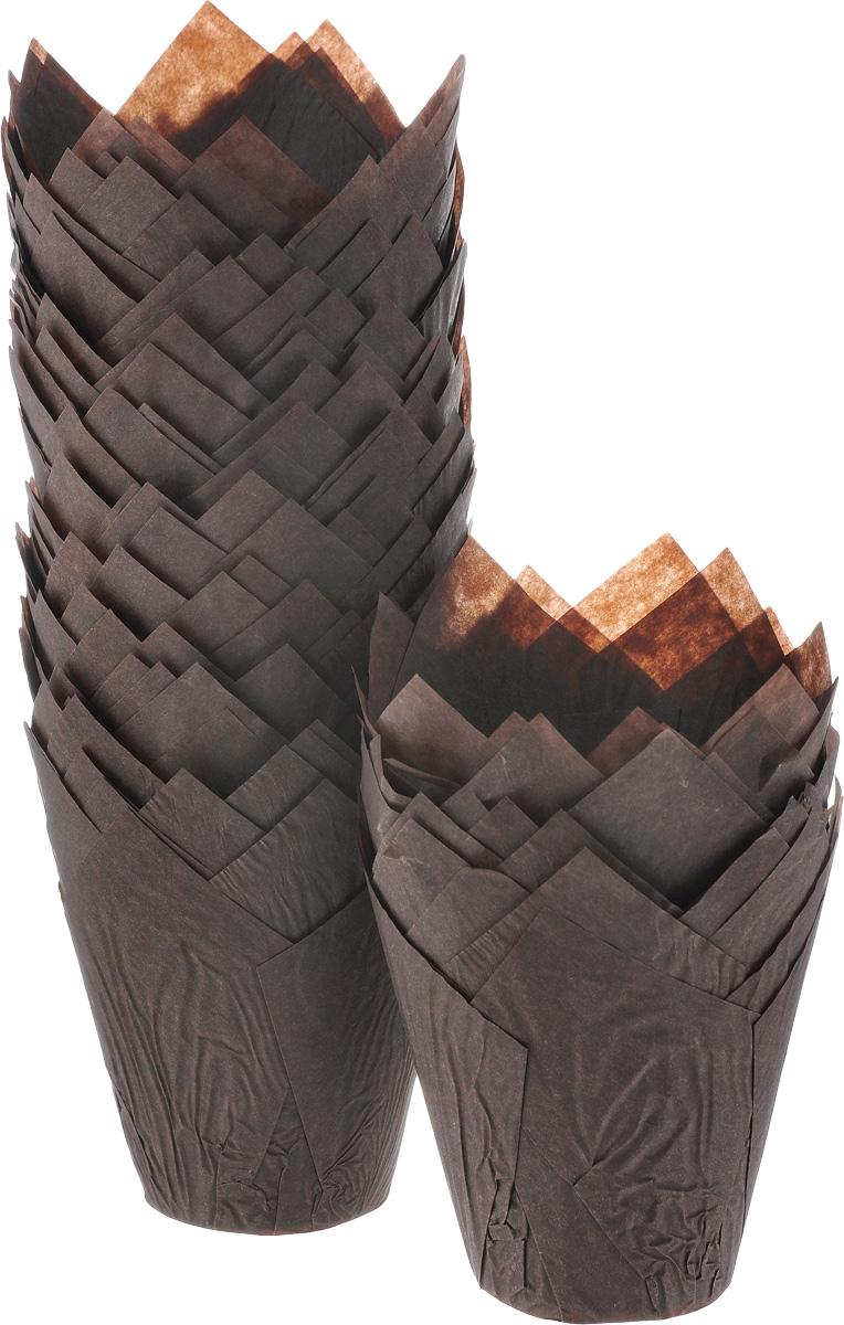 Форма для выпечки ДжиДиСи Тюльпан, бумажная, диаметр 9 см, 200 штБУМ22290Формы для выпечки ДжиДиСи Тюльпан, изготовленные из высококачественной перманентной бумаги, выдерживают высокую температуру. В комплекте 200 форм, выполненных в виде тюльпанов. Если вы любите побаловать своих домашних вкусным и ароматным угощением по вашему оригинальному рецепту, то формы ДжиДиСи Тюльпан как раз то, что вам нужно!Диаметр формы (по верхнему краю): 9 см.Высота формы: 10 см.
