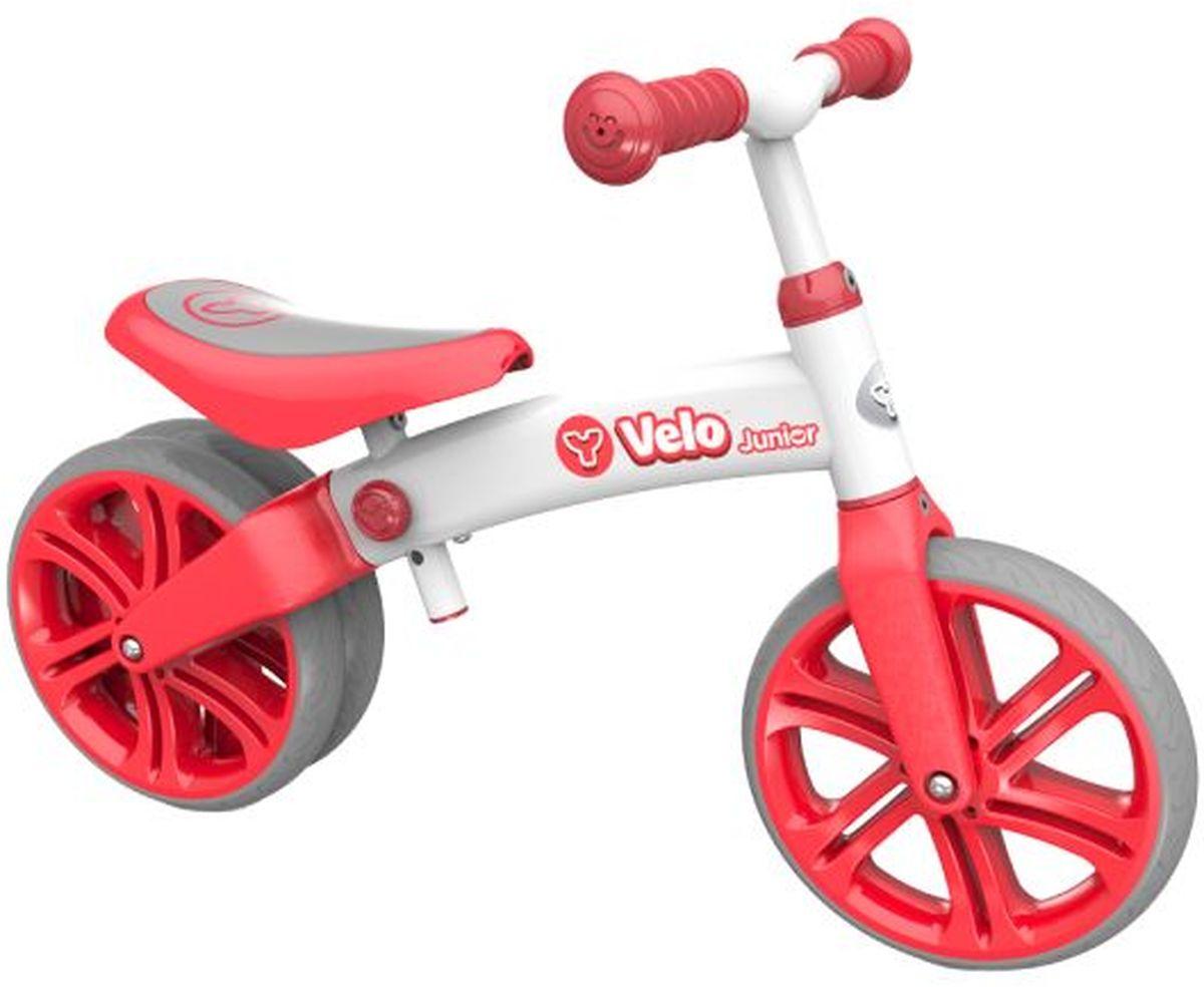 Y-Volution Беговел двухколесный Velo Junior с двойным колесом цвет красный