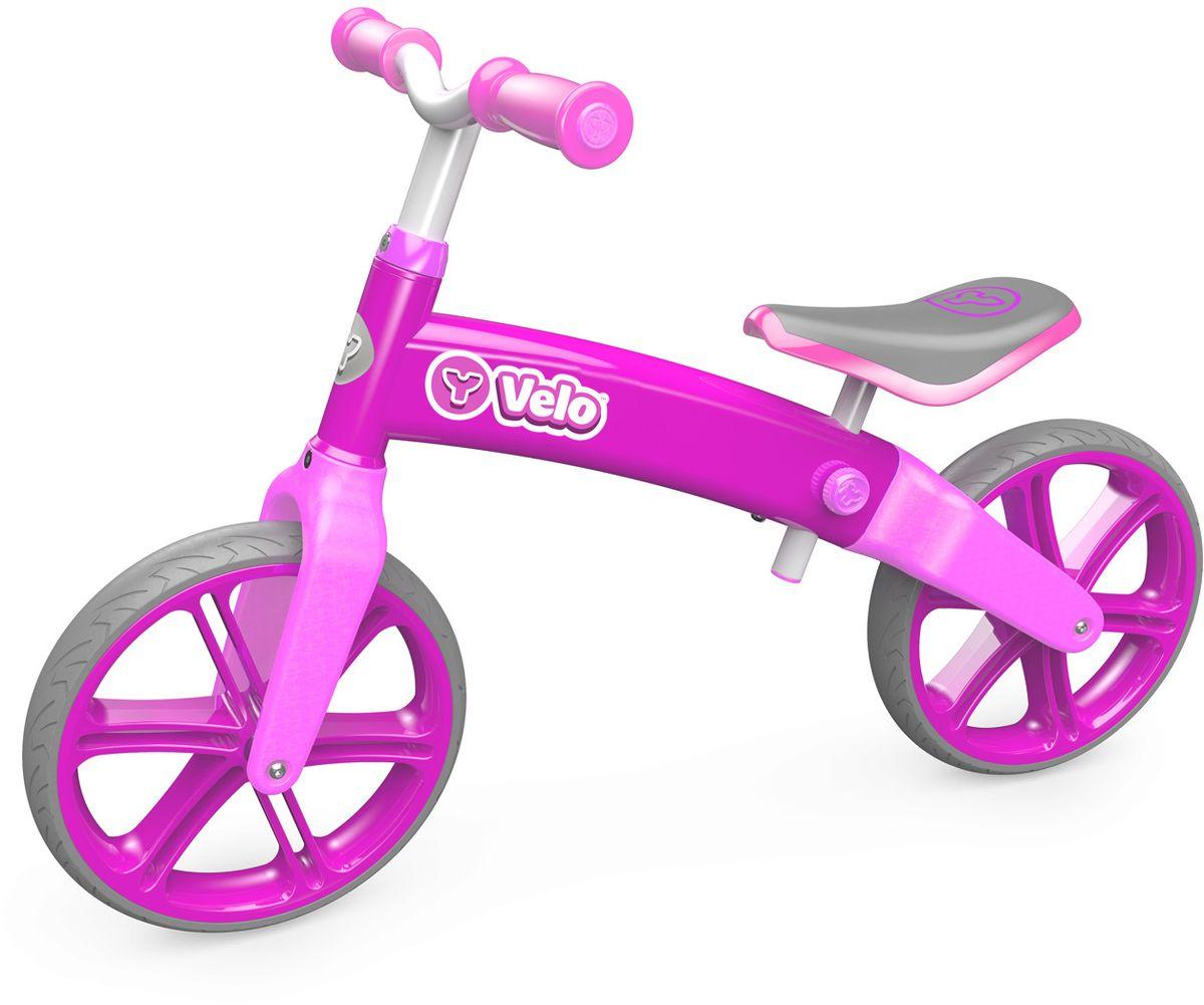 Y-Volution Беговел детский Velo Balance цвет розовый