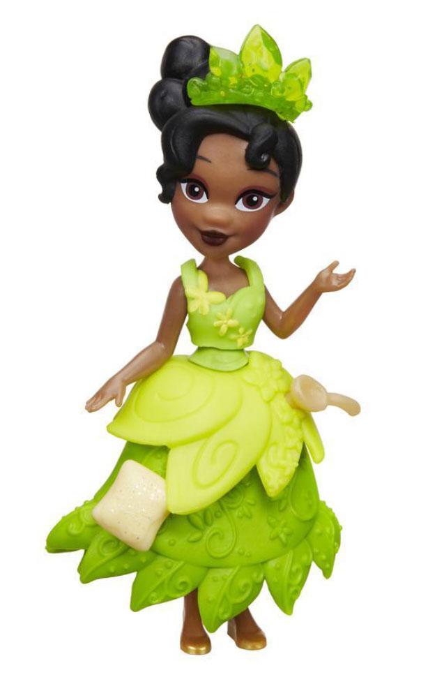 Disney Princess Мини-кукла Тиана цвет платья светло-зеленый disney princess мини кукла тиана цвет платья светло зеленый