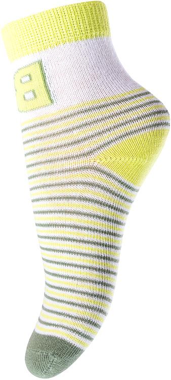 Носки для мальчика PlayToday, цвет: зеленый, салатовый. 177085. Размер 11177085Носки для мальчика PlayToday, изготовленные из высококачественного материала, идеально подойдут вашему малышу. Эластичная резинка плотно облегает ножку ребенка, не сдавливая ее, благодаря чему малышу будет комфортно и удобно. Усиленная пятка и мысок обеспечивают надежность и долговечность.