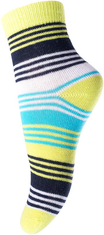 Носки для мальчика PlayToday, цвет: салатовый, голубой. 177084. Размер 11177084Носки для мальчика PlayToday, изготовленные из высококачественного материала, идеально подойдут вашему малышу. Эластичная резинка плотно облегает ножку ребенка, не сдавливая ее, благодаря чему малышу будет комфортно и удобно. Усиленная пятка и мысок обеспечивают надежность и долговечность.