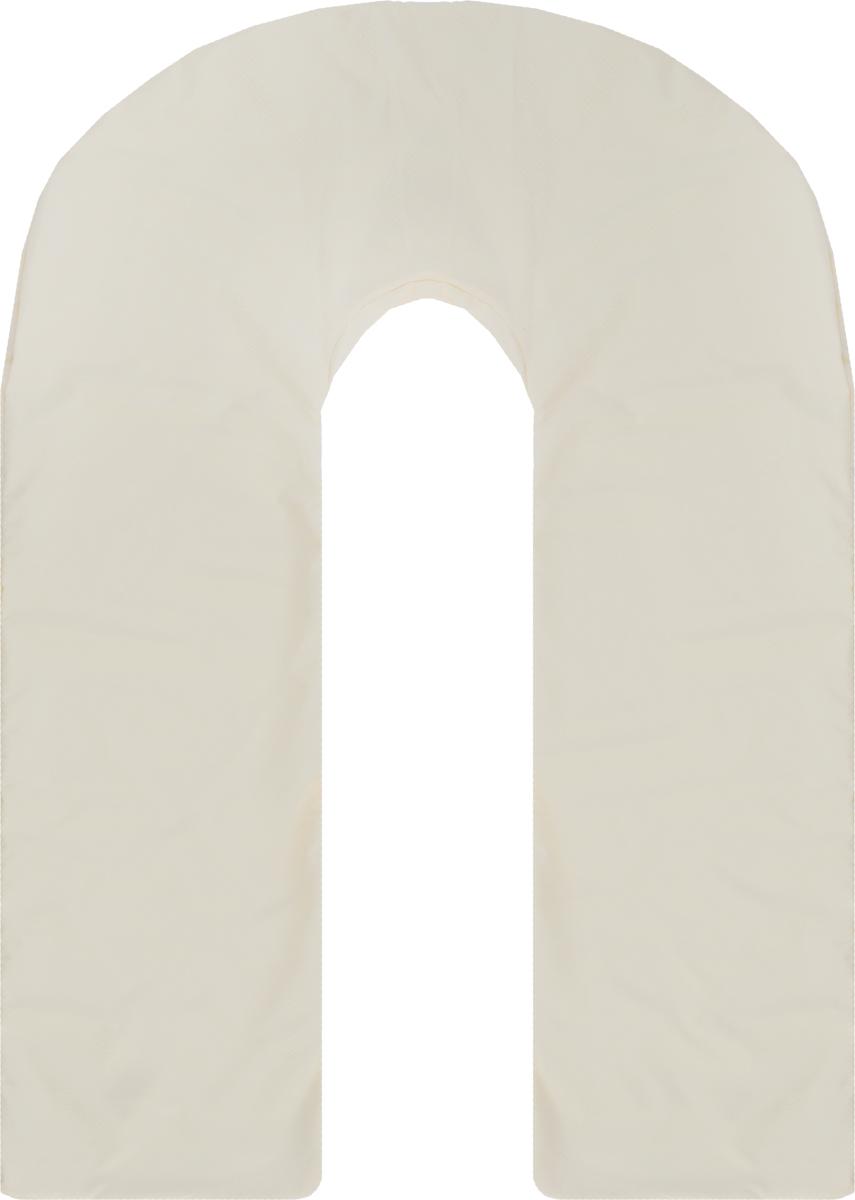 Body Pillow Чехол для подушки для беременных U-образный цвет бежевыйU90х150 бежСъемная наволочка на молнии Body Pillow нежного бежево-молочного цвета с рельефным римским узором Квадратики из микрофибры, очень практичный цвет. Подходит для подушки в виде буквы U. Чехол не выгорает, не растягивается, не садится после стирки и абсолютно безопасен для вашего здоровья и здоровья малыша.Способ ухода: рекомендуется машинная стирка в режиме при 30 градусах. Перед использованием чехол рекомендуется постирать.