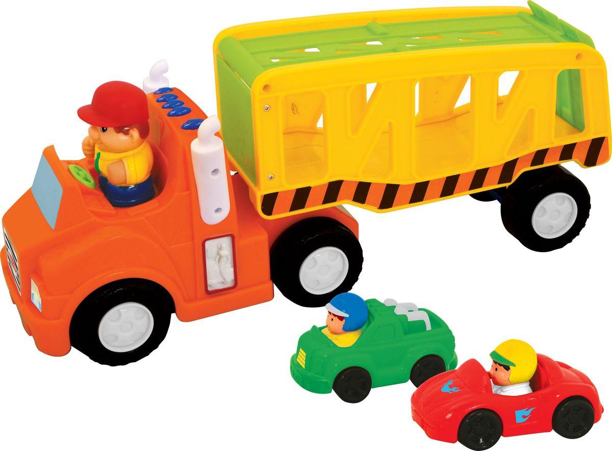 Kiddieland Развивающая игрушка Автоперевозчик kiddieland развивающая игрушка каталка слоник