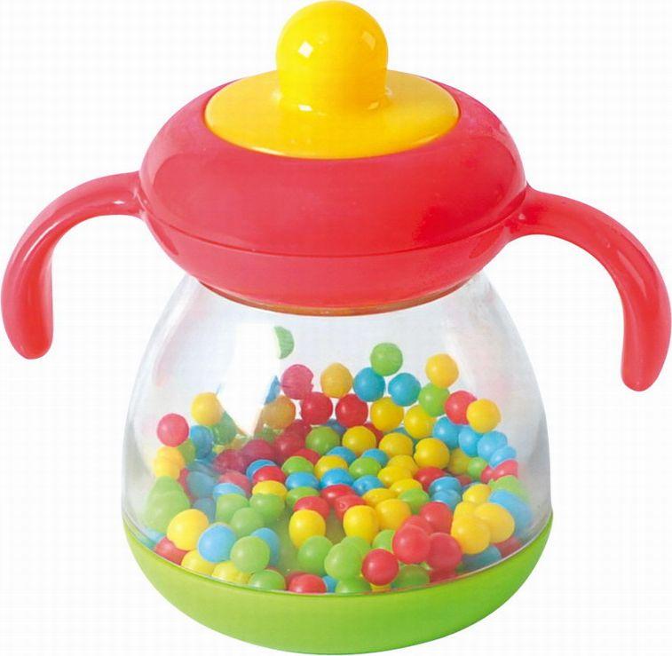 Playgo Развивающая игрушка Бутылочка c шариками