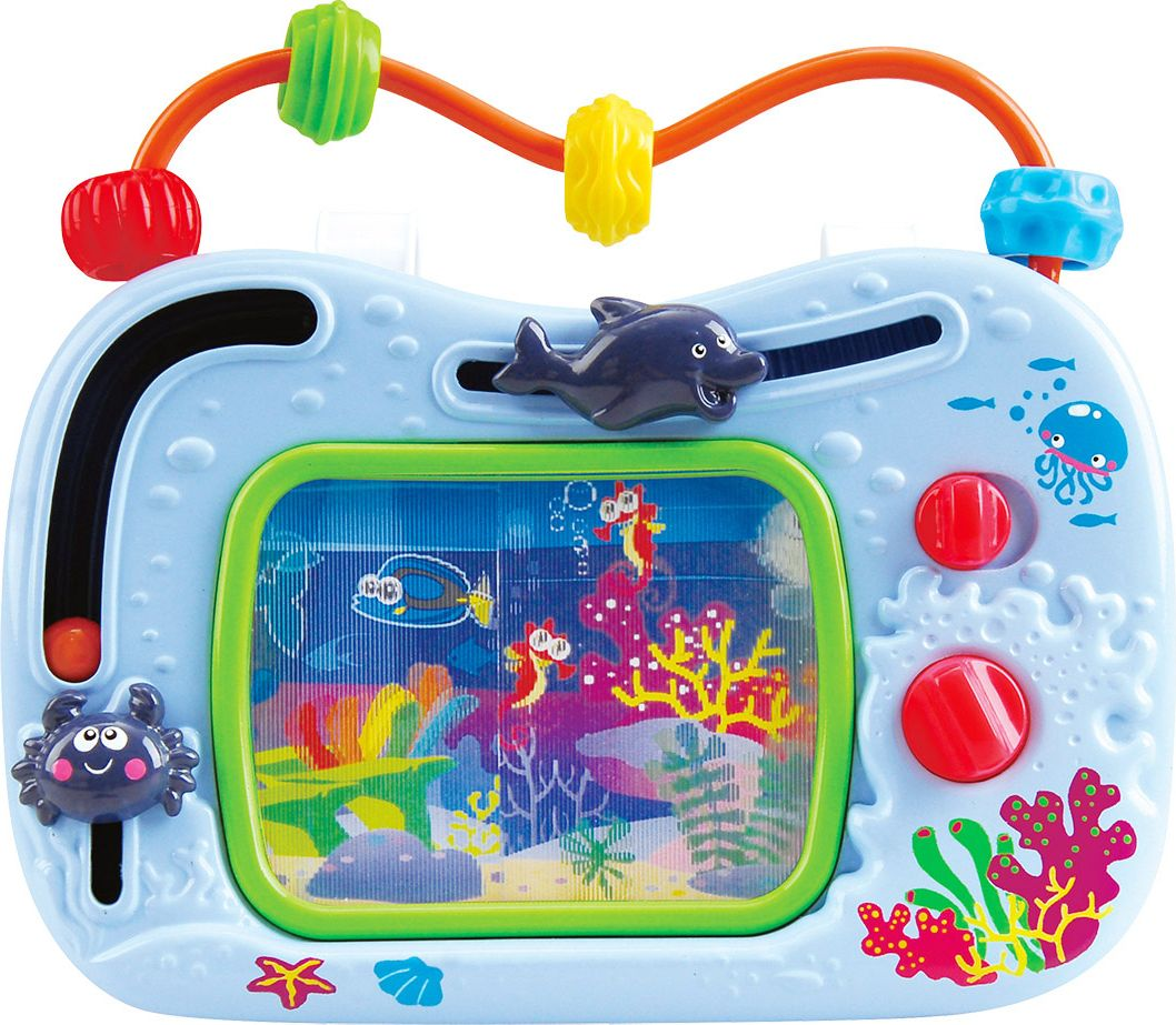 Playgo Развивающий центр Телевизор-аквариум игрушки интерактивные playgo интерактивная игрушка телевизор
