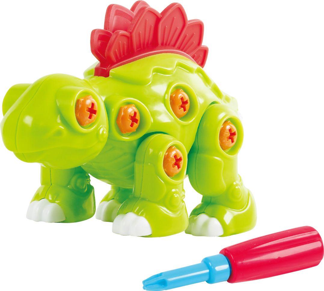 Playgo Конструктор Собери динозавра Стегозавр playgo игровой набор корзина с выпечкой