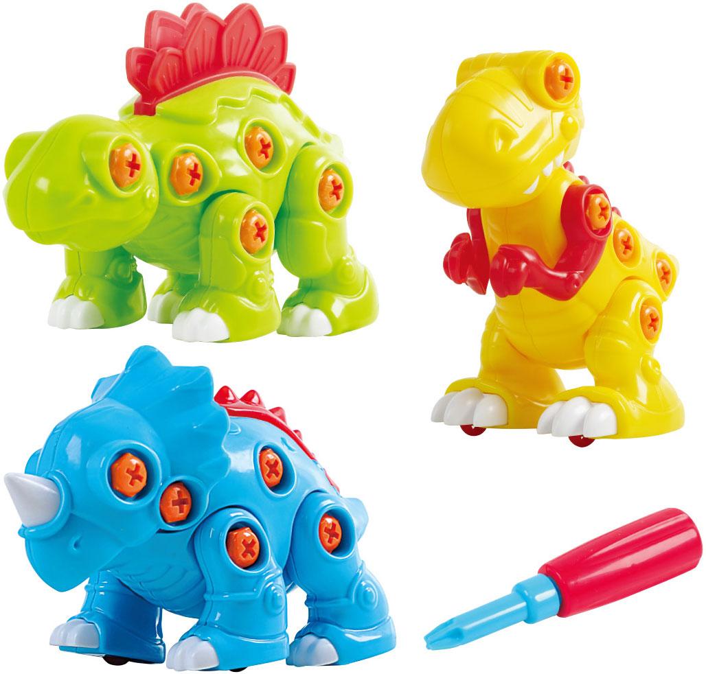 Фото - Playgo Конструктор Собери динозавра 3 в 1 конструктор автомобильный парк 7 в 1