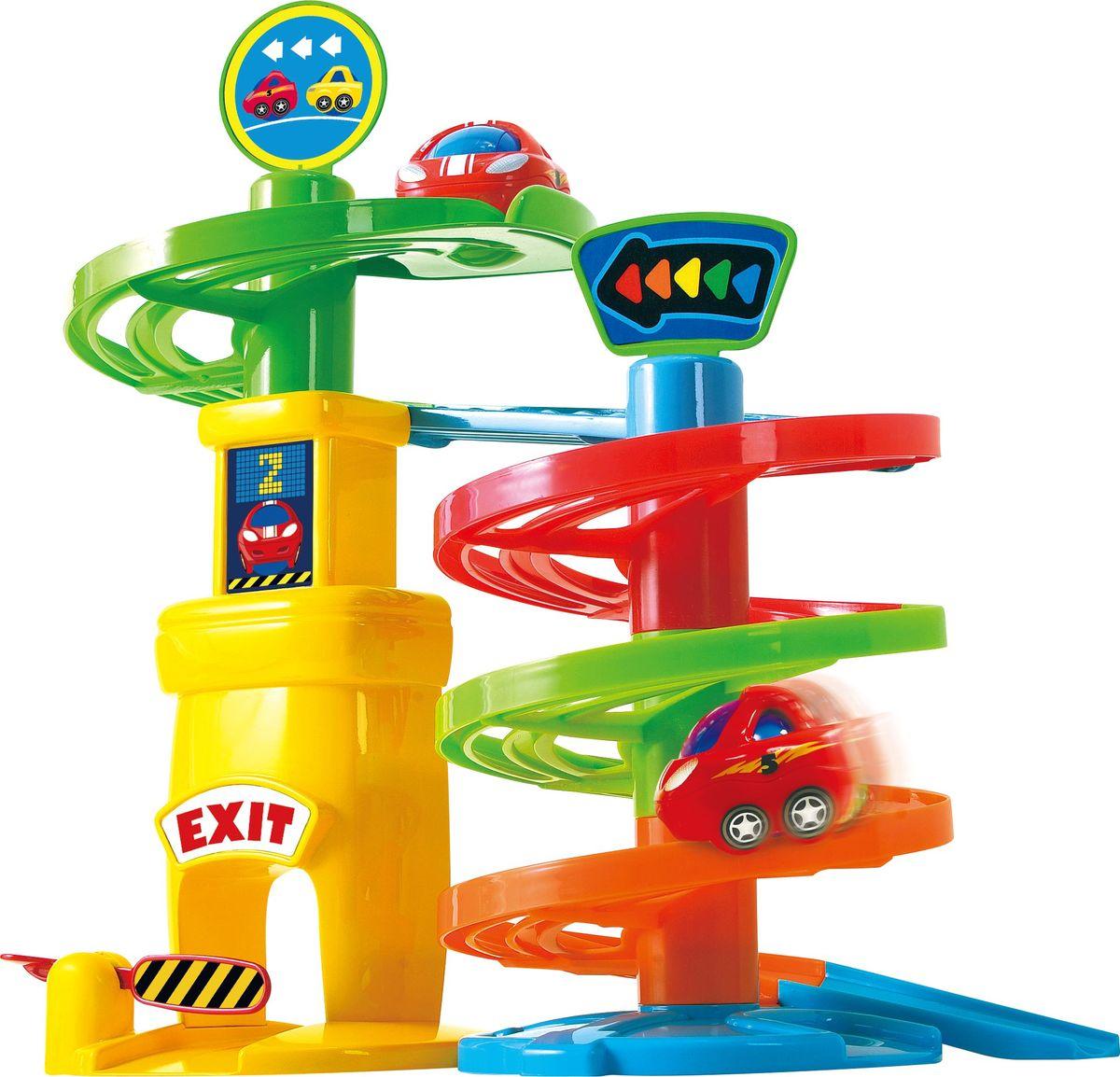 Playgo Развивающий центр Игровая парковка 1 уровень