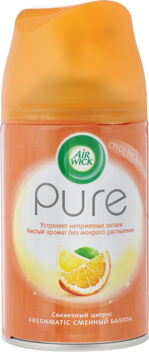 Баллон для автоматического освежителя воздуха Air Wick Pure. Солнечный цитрус, 250 мл освежитель воздуха air wick pure весеннее настроение