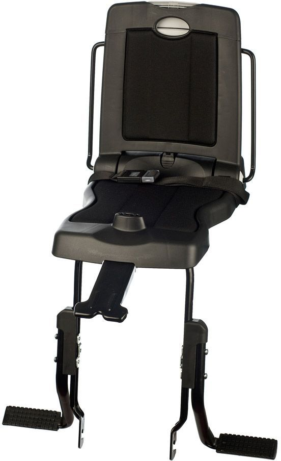 Велокресло заднее Bobike Junior Classic, крепление на багажник велосипеда, цвет: черный8010500001Bobike Junior Classic – совершенно новое велокресло с элегантным и современным голландским дизайном для детей от 5 до 10 лет или весом до 35 килограмм. Уникальная двухслойная конструкция кресла обеспечивает непревзойдённый уровень безопасности ребёнка. Кресло обеспечивает поддержку ребёнку, когда он сидит на багажнике. Это велокресло оборудовано ремнём безопасности и защитой ног от попадания в спицы.Все кресла Bobike оснащены мягкой водоотталкивающей подкладкой для защиты от дождя и росы. Спинка кресла складывается и в сложенном состоянии является удобным багажником. Велокресло устанавливается на подседельную трубу рамы диаметром от 28 до 50 мм.- Крепление на багажник велосипеда;- Комфортная подкладка из водоотталкивающего материала;- Удобный страхующий ремень;- Регулируемые подножки;- Шестигранник для установки кресла в комплекте;- Голландский дизайн; - Сделано в Европе.Гид по велоаксессуарам. Статья OZON Гид