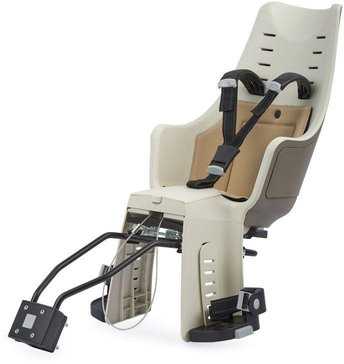 Велокресло заднее Bobike Exclusive Maxi 1P, крепление на раму и багажник велосипеда, цвет: светло-коричневый8011100014С велокреслом Bobike Exclusive Maxi 1P вы полюбите кататься с детьми. Наслаждайтесь природой, чувствуйте ветер в волосах и солнечные лучи на лице.Уникальная двухслойная конструкция кресла обеспечивает непревзойдённый уровень безопасности ребёнка. Кресло оборудовано регулируемыми по высоте мягкими нескользящими наплечными ремнями с надёжной застёжкой для удержания ребёнка в правильной позиции.Кресло оснащено подкладкой из водоотталкивающего материала. Система крепления Click & Go позволяет быстро и без инструментов установить и снять велокресло, а также переставить его между разными велосипедами. Для кратковременной стоянки у магазина или подъезда в комплектацию включён небольшой кодовый замок.Кресло устанавливается на подседельную трубу рамы диаметром от 28 до 40 мм или на багажник шириной от 120 до 175 мм.Велокресло предназначено для детей от 9 месяцев до 6 лет и весом до 22 кг.- Крепление на раму или багажник велосипеда;- Нескользящие наплечные ремни, регулируемые по высоте;- Подкладка из водоотталкивающего материала;- Регулируемые подножки, настраиваемые без инструментов;- Кодовый замок защитит от кражи кресла;- Шестигранник для установки кресла в комплекте- Совместимо с электровелосипедами; - Награда в номинации Лучшая покупка от Голландского Общества Потребителей;- Изготовлено в Европе.