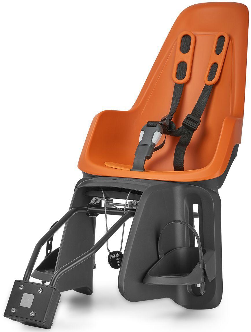 Велокресло заднее Bobike One Maxi 1P, крепление на раму и багажник велосипеда, цвет: оранжевый8012200007Bobike One Maxi 1P любит город, так же как вы и ваше чадо. С лёгкостью пробираясь через городской трафик, Вы не пугаетесь неожиданных поворотов судьбы и препятствий. Стильный и свежий дизайн, удостоенный награды Голландского Общества Потребителей, отлично сочетается со всеми трендами велосипедной моды. Уникальная двухслойная конструкция кресла и красный задний светоотражатель обеспечивают непревзойдённый уровень безопасности ребёнка. Кресло оборудовано мягкими нескользящими наплечными ремнями с надёжной застёжкой для удержания ребёнка в правильной позиции. Кресло оснащено водоотталкивающей гасящей вибрации подкладкой. Система крепления Click & Go позволяет быстро и без инструментов установить и снять велокресло, а также переставить его между разными велосипедами. Для кратковременной стоянки у магазина или подъезда в комплектацию включён небольшой кодовый замок. Кресло устанавливается на подседельную трубу рамы диаметром от 28 до 40 мм или на багажник шириной от 120 до 175 мм. Кресло предназначено для детей от 9 месяцев до 6 лет и весом до 22 кг. - Крепление на раму и багажник велосипеда;- Нескользящие наплечные ремни с надёжной застёжкой;- Подкладка из водоотталкивающего, гасящего вибрации материала;- Красный катафот на спинке кресла;- Регулируемые подножки, настраиваемые без инструментов;- Кодовый замок защитит от кражи кресла;- Шестигранник для установки кресла в комплекте;- Совместимо с электровелосипедами;- Голландский дизайн;- Сделано в Европе.