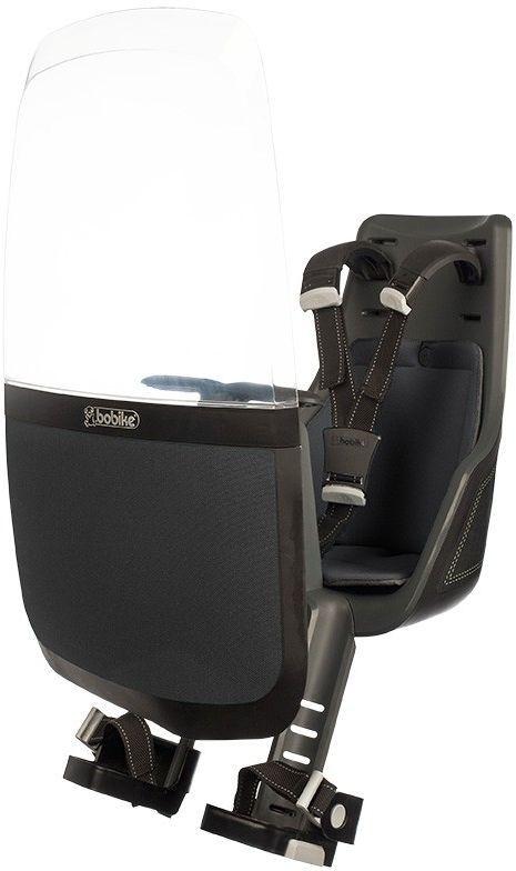 Ветровое стекло для велокресел Bobike Windscreen Exclusive, цвет: черный велокресло bobike one mini coffee brown